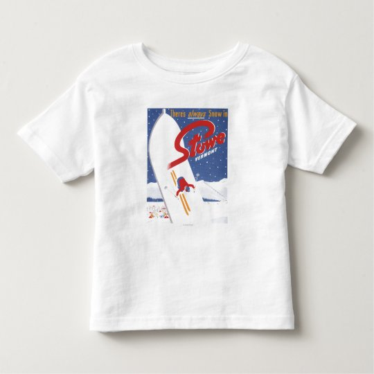 Sweeping S - There's Always Snow Promo Poster Toddler T-shirt