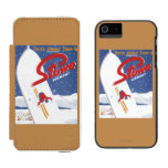 Sweeping S - There's Always Snow Promo Poster Wallet Case For iPhone SE/5/5s