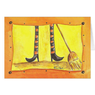 Sweeping Up Card