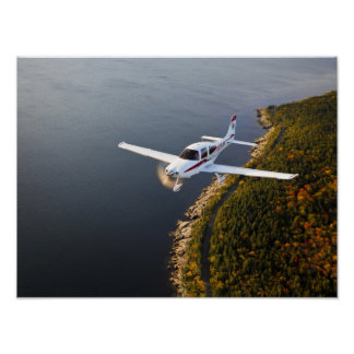 Sweeps Cirrus Over Acadia Poster