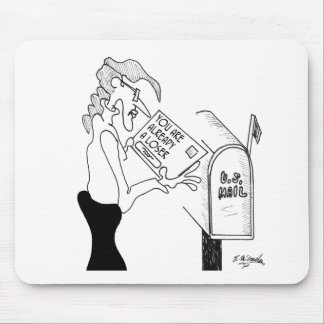 Sweepstakes Cartoon 1571 Mouse Pad