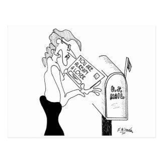 Sweepstakes Cartoon 1571 Postcard