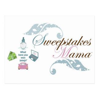 Sweepstakes Mama Gear Postcard