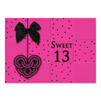 Sweet 13 Birthday Party Invitations Custom Announcements
