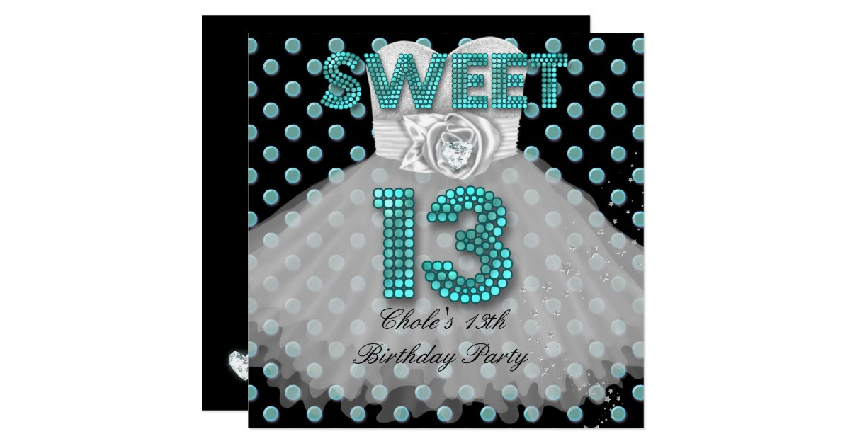 Teen Girl Invitations Announcements – Teenage Girl Party Invitations