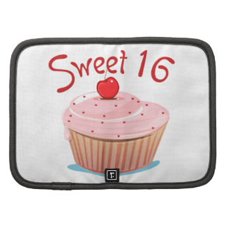 Sweet 16 16th Birthday Cupcake Planner