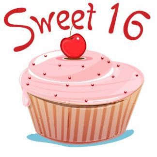 Sweet 16 16th Birthday Cupcake Statuette