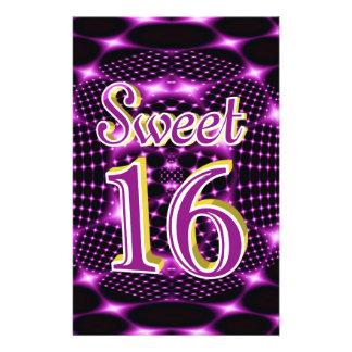 "Sweet 16 5.5"" x 8.5"" flyer"