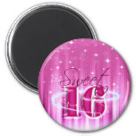 Sweet 16 All Stars 2 Inch Round Magnet