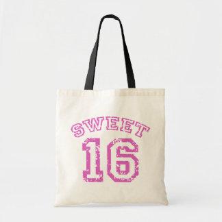 Sweet 16 budget tote bag