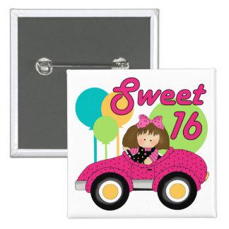Sweet 16 Birthday Button