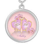 Sweet 16 birthday charm personalized jewelry