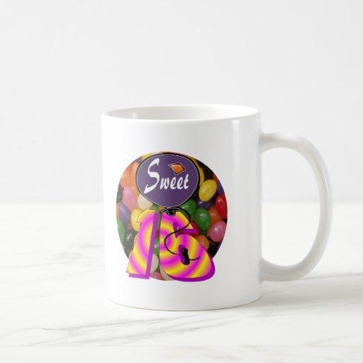 Sweet 16 Birthday Gear Classic White Coffee Mug