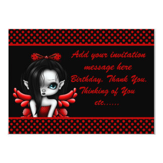 Sweet 16 Birthday Invitation-red Card