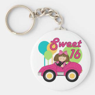 Sweet 16 Birthday Keychain