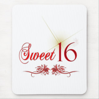 Sweet 16 Birthday Mouse Pad