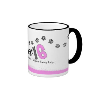 Sweet 16 Birthday Mug