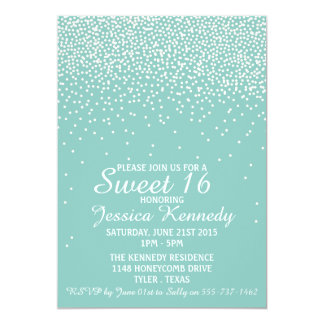 Sweet 16 Birthday Party Invitations