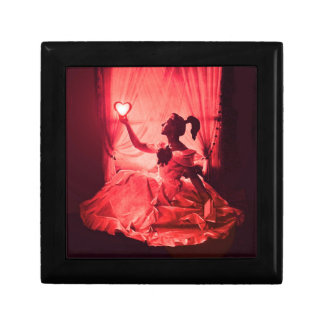 SWEET 16 BIRTHDAY PARTY,PINK RED  BLACK JEWELRY BOX