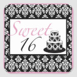 Sweet 16 Birthday Party Stickers