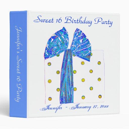 Sweet 16 Birthday Photo Album Binders