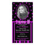 Sweet 16 Birthday Photo Card Invitation Photo Cards