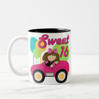 Sweet 16 Birthday Two-Tone Coffee Mug