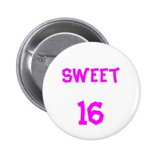 Sweet 16 Button