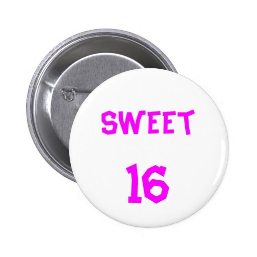 Sweet 16 Button