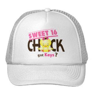 Sweet 16 Chick 1 Trucker Hat