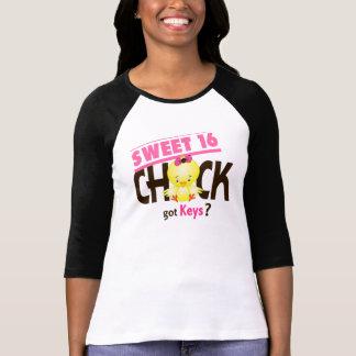 Sweet 16 Chick 1 Tee Shirt