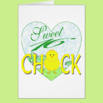 Sweet 16 Chick Card