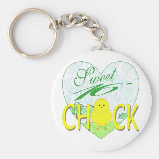 Sweet 16 Chick Keychain