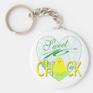 Sweet 16 Chick Keychain