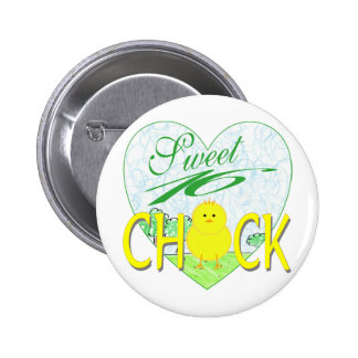 Sweet 16 Chick Pinback Button