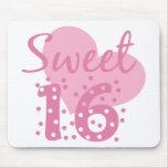Sweet 16 Confetti Mousepad