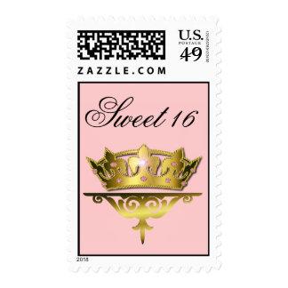 Sweet 16 Crown Stamp