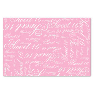 "Sweet 16 Custom Color 10"" X 15"" Tissue Paper"