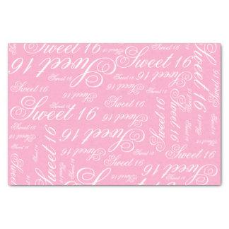 Sweet 16 Custom Color Tissue Paper