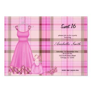 Sweet 16 Fashion Birthday Card