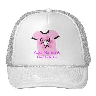 Sweet 16 Flower Power Favors,Gifts,Invites Trucker Hat