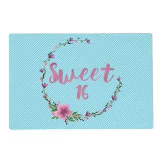 Sweet 16 Flowers Placemat