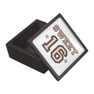 Sweet  16 Gift Box
