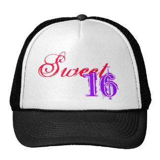 Sweet, 16 hat