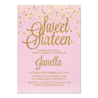 Sweet 16 invitation template sweet 16 invitation card futureclim info stopboris Image collections