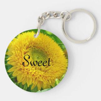 Sweet 16 keychains Yellow Sunflowers Flowers
