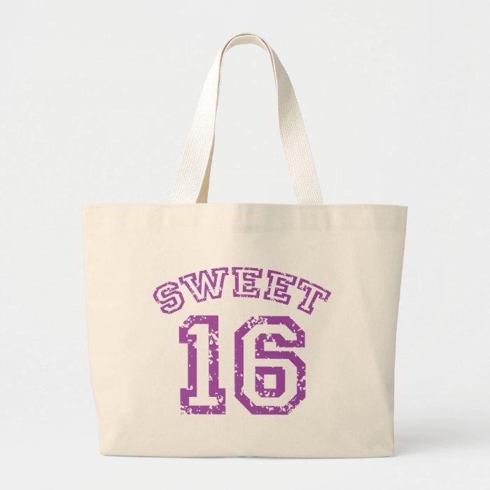 Sweet 16 large tote bag