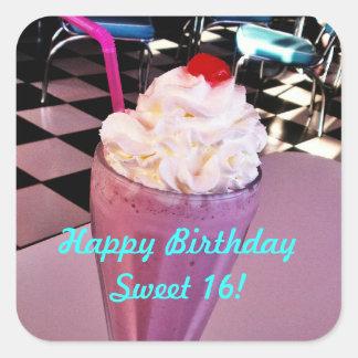 Sweet 16 Milkshake sticker
