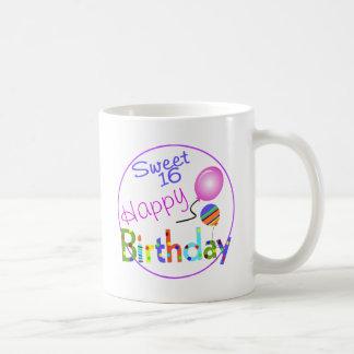 Sweet 16 coffee mugs