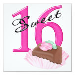 Sweet 16 personalized announcements